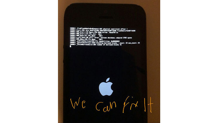 iPhone 5 NAND Flash I.C Chip Screen Issue.
