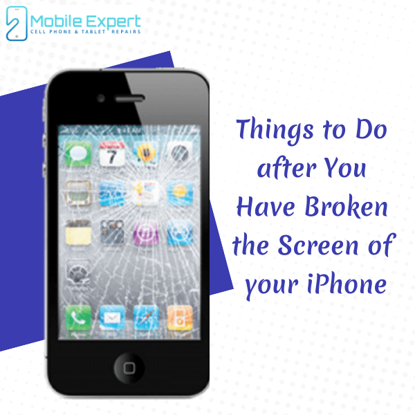 Things to Do after You Have Broken the Screen of your iPhone