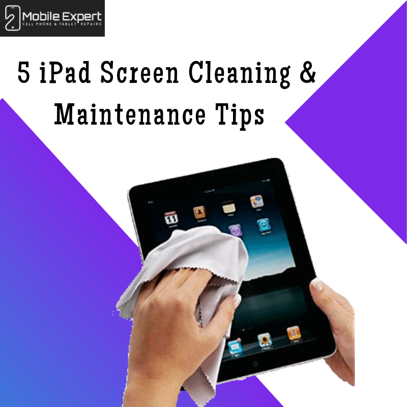 iPad Screen Cleaning