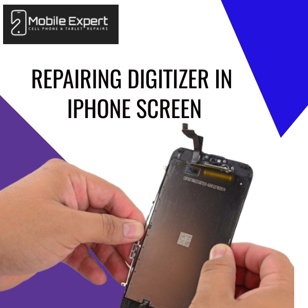 Repairing Digitizer in iPhone Screen