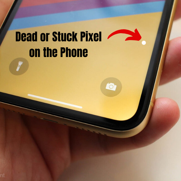 Dead Pixel on the Phone